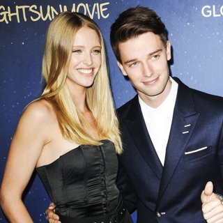 Abby Champion, Patrick Schwarzenegger in Film Premiere of Midnight Sun