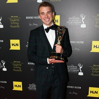 Chandler Massey in 39th Daytime Emmy Awards - Press Room