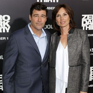 Kyle Chandler, Kathryn Chandler in Los Angeles Premiere of Columbia Pictures' Zero Dark Thirty