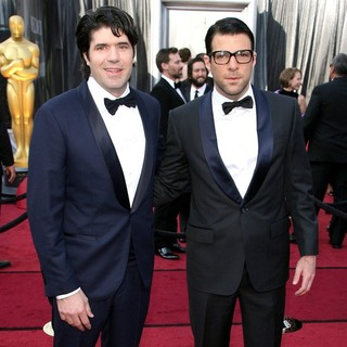 J.C. Chandor, Zachary Quinto in 84th Annual Academy Awards - Arrivals