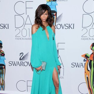 Chanel Iman - The 2011 CFDA Fashion Awards