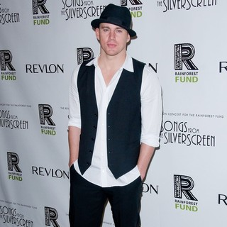 Channing Tatum in The 2012 Concert for The Rainforest Fund Afterparty - Arrivals