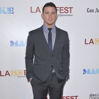 Channing Tatum in 2012 Los Angeles Film Festival - Closing Night Gala - Premiere Magic Mike