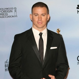 Channing Tatum in The 69th Annual Golden Globe Awards - Press Room