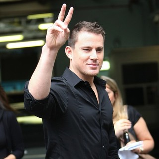 Channing Tatum in Channing Tatum at The ITV Studios