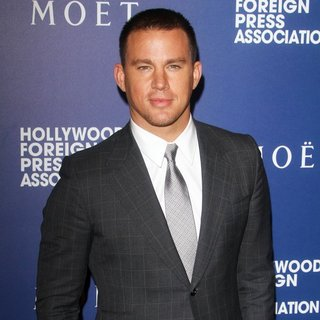 Channing Tatum in The Hollywood Foreign Press Association's Grants Banquet