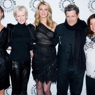 Georgina Chapman, Joanna Coles, Angela Lindvall, Isaac Mizrahi, Meryl Poster in The Paley Center for Media Presents Project Runway All Stars - Arrivals