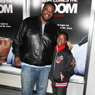Grizz Chapman, Christian Chapman in Here Comes the Boom New York Premiere
