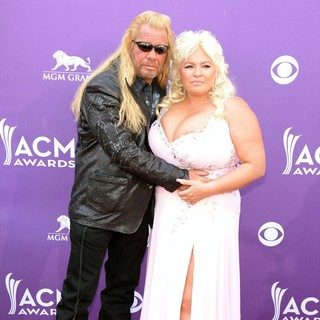 Duane Chapman, Beth Smith in 48th Annual ACM Awards - Arrivals