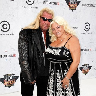 Duane Chapman, Beth Smith in Comedy Central Roast of Charlie Sheen - Arrivals