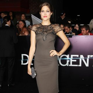 Charity Wakefield in Premiere of Summit Entertainment's Divergent - Red Carpet Arrivals