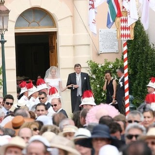 Charlene Wittstock, Michael Kenneth Wittstock in Religious Ceremony of The Royal Wedding of Prince Albert II of Monaco to Charlene Wittstock