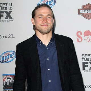 Charlie Hunnam in The Premiere Screening of FX's Sons of Anarchy Season 5
