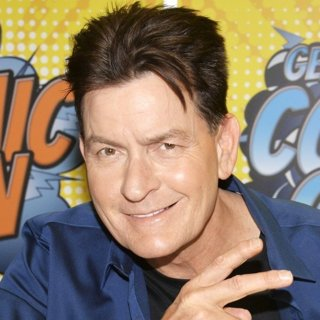 Charlie Sheen in 5th German Comic Con