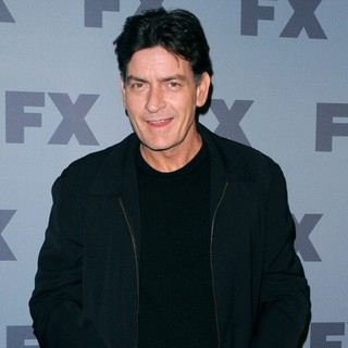Charlie Sheen in FX 2012 Ad Sales Upfront - Arrivals