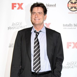 Charlie Sheen in FX Summer Comedies Party - charlie-sheen-fx-summer-comedies-party-01