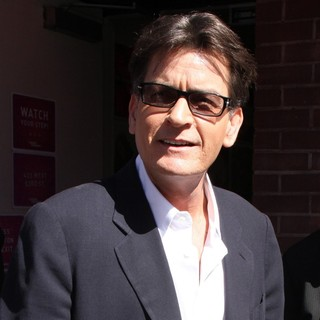 Charlie Sheen Outside The Wendy Williams Show - charlie-sheen-wendy-williams-show-01