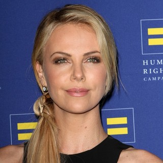 Charlize Theron in 2012 Human Rights Campaign Los Angeles Gala - Arrivals