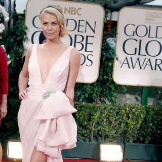 Charlize Theron in The 69th Annual Golden Globe Awards - Arrivals