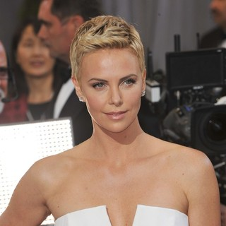 Charlize Theron in The 85th Annual Oscars - Red Carpet Arrivals