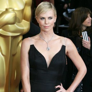 Charlize Theron in The 86th Annual Oscars - Red Carpet Arrivals