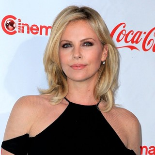 Charlize Theron in CinemaCon 2012 Big Screen Achievement Award