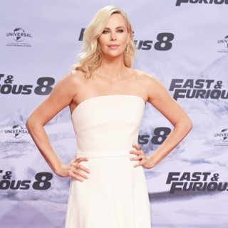 Charlize Theron in German Premiere of The Movie The Fate of the Furious