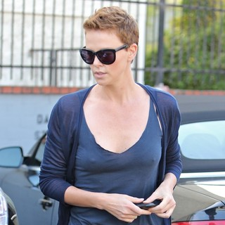 Charlize Theron in Charlize Theron Seen Leaving Her Dance Class