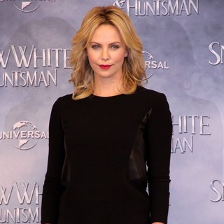 Charlize Theron in Snow White and the Huntsman - Photocall