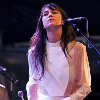 Charlotte Gainsbourg in Charlotte Gainsbourg Performing Live During The Summer Series
