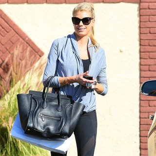 Charlotte McKinney in Charlotte McKinney Leaving Dance Practice for Dancing with the Stars