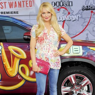 Los Angeles Premiere of Disney's Muppets Most Wanted - Red Carpet Arrivals - charlotte-ross-premiere-muppets-most-wanted-03
