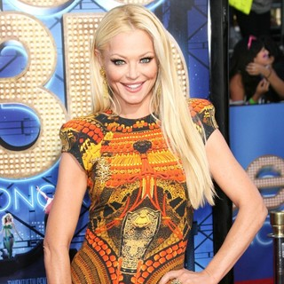 Charlotte Ross in The World Premiere of Glee The 3D Concert Movie - Arrivals
