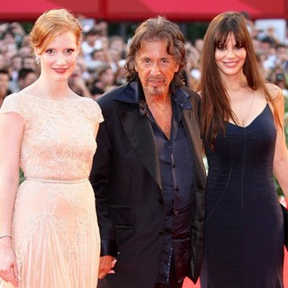 Jessica Chastain, Al Pacino, Lucila Sola in The 68th Venice Film Festival - Day 5 - Wilde Salome - Premiere