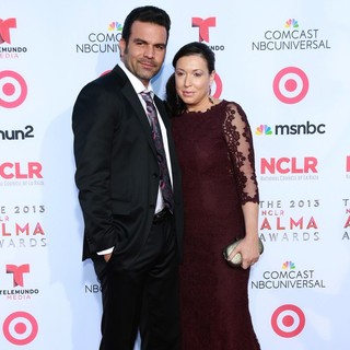 Ricardo Chavira, Marcea Dietzel in The 2013 NCLR ALMA Awards