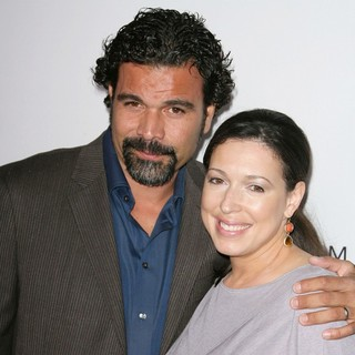 Ricardo Chavira, Marcea Dietzel in Desperate Housewives Final Season Kick-Off Party