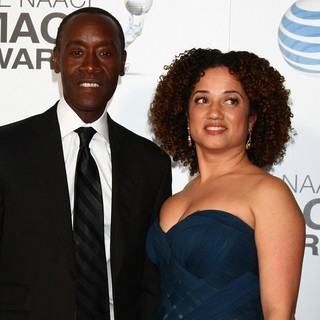 Don Cheadle, Bridgid Coulter in The 44th NAACP Image Awards