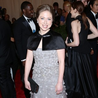 Chelsea Clinton in PUNK: Chaos to Couture Costume Institute Gala