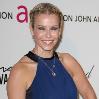 Chelsea Handler in 21st Annual Elton John AIDS Foundation's Oscar Viewing Party