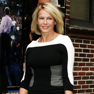Chelsea Handler in Celebrity Taping on The Late Show with David Letterman - chelsea-handler-late-show-with-david-letterman-01