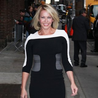 Chelsea Handler - Celebrity Taping on The Late Show with David Letterman