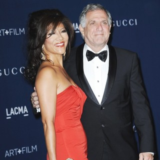 Julie Chen, Leslie Moonves in LACMA 2013 Art and Film Gala Honoring Martin Scorsese and David Hockney Presented by Gucci