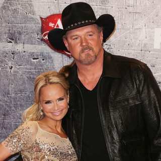 Kristin Chenoweth, Trace Adkins in 2012 American Country Awards - Press Room