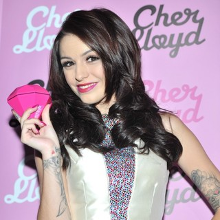 Cher Lloyd in Cher Lloyd Launches Her Fragrance Pink Diamond