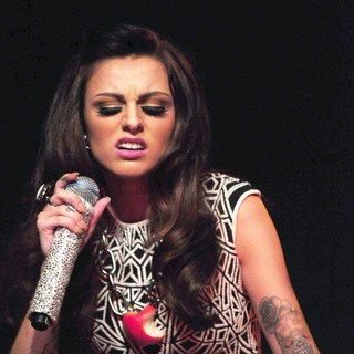 Cher Lloyd in Cher Lloyd Performs Live