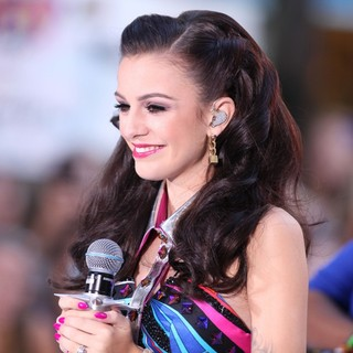 Cher Lloyd in Cher Lloyd Performing Live at The Toyota Concert Series on The Today Show