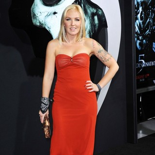 The LA Premiere of Final Destination 5 - cherish-lee-premiere-final-destination-5-01