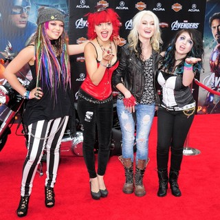 Cherri Bomb in World Premiere of The Avengers - Arrivals