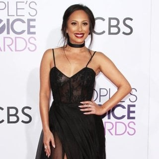 Cheryl Burke-People's Choice Awards 2017 - Arrivals
