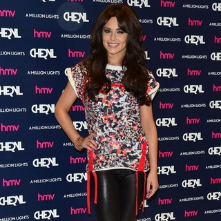 Cheryl Cole in Cheryl Cole at An Album Signing